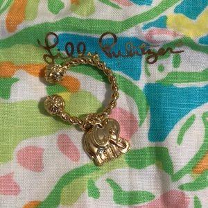Lilly key ring